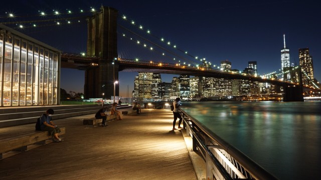 Brooklyn Bridge Park. Favorite spot in NYC.