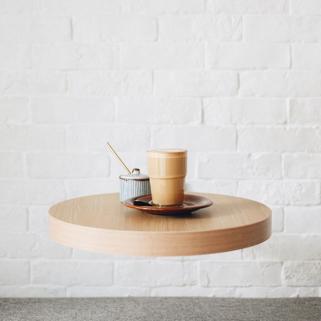 Floating coffee table