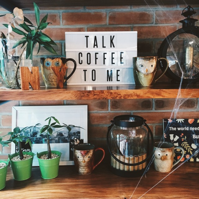 Talk coffee to me. ☕️