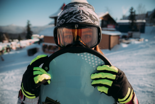 Free authentic snowboard photo on Reshot