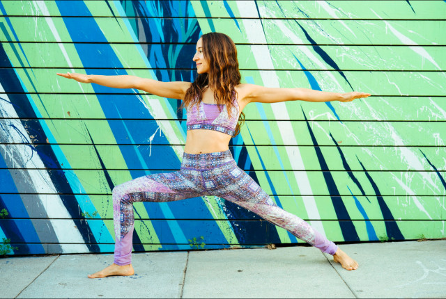 Free authentic outdoors yoga photo on Reshot