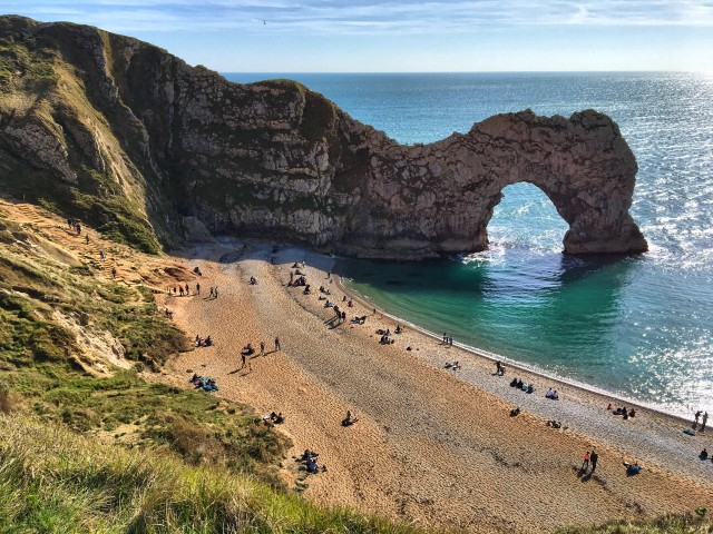 Durdle Door in Dorset UK