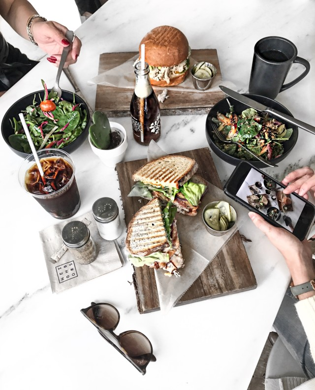 Free authentic overhead food photo on Reshot