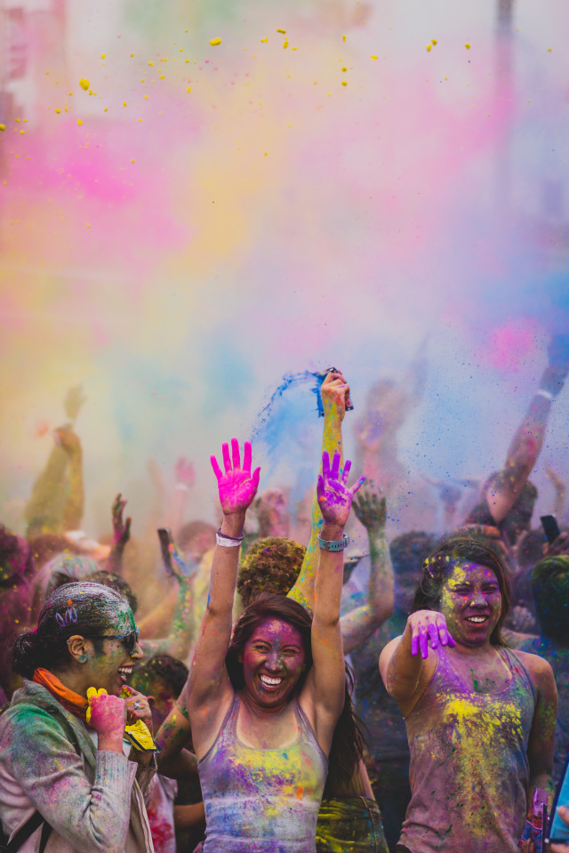 Free authentic holi photo on Reshot