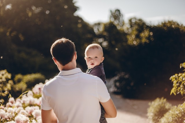 Free authentic father and son photo on Reshot