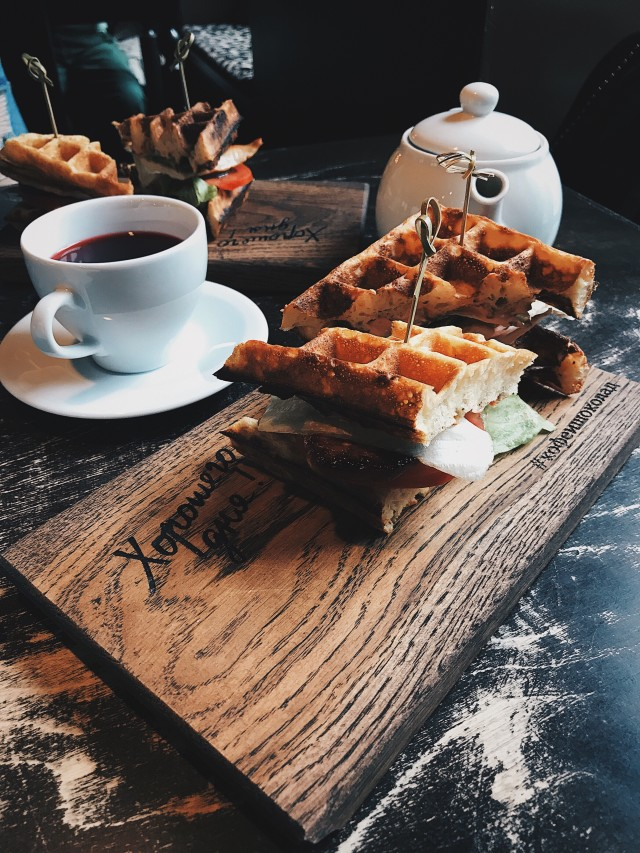 Free authentic waffles photo on Reshot