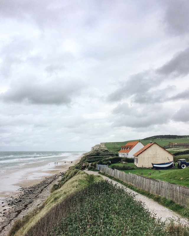 Houses by the sea