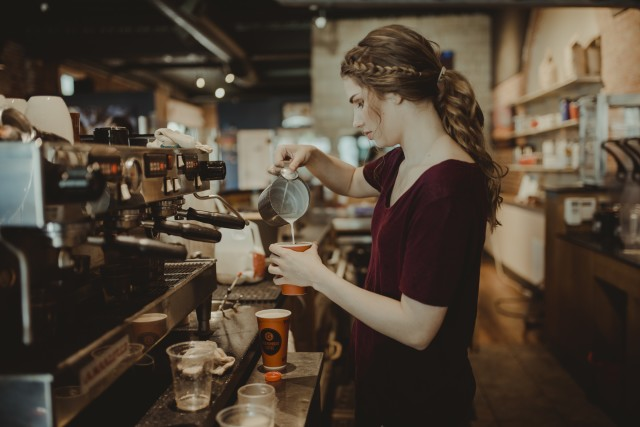 Free authentic barista photo on Reshot