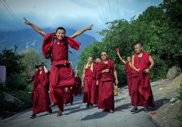 Free authentic monks photo on Reshot