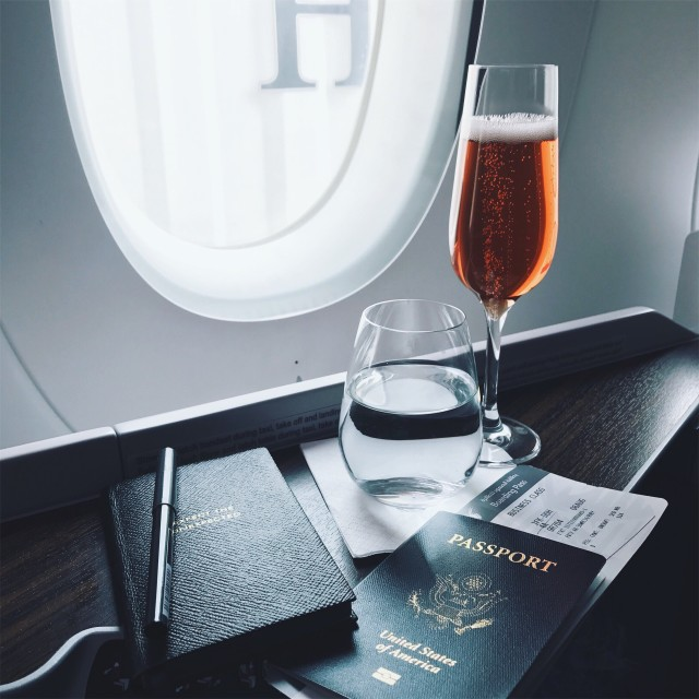 business class bubbly