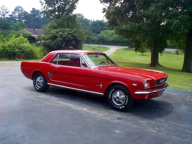 1966 Ford Mustang 289. Signature collection