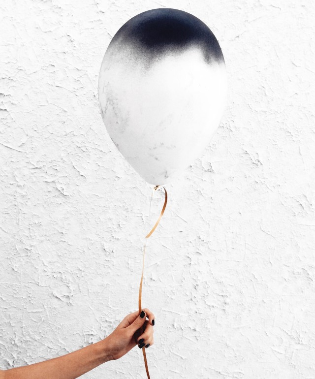 Balloon in the hand