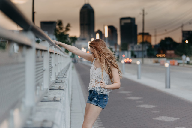 Free authentic long hair photo on Reshot