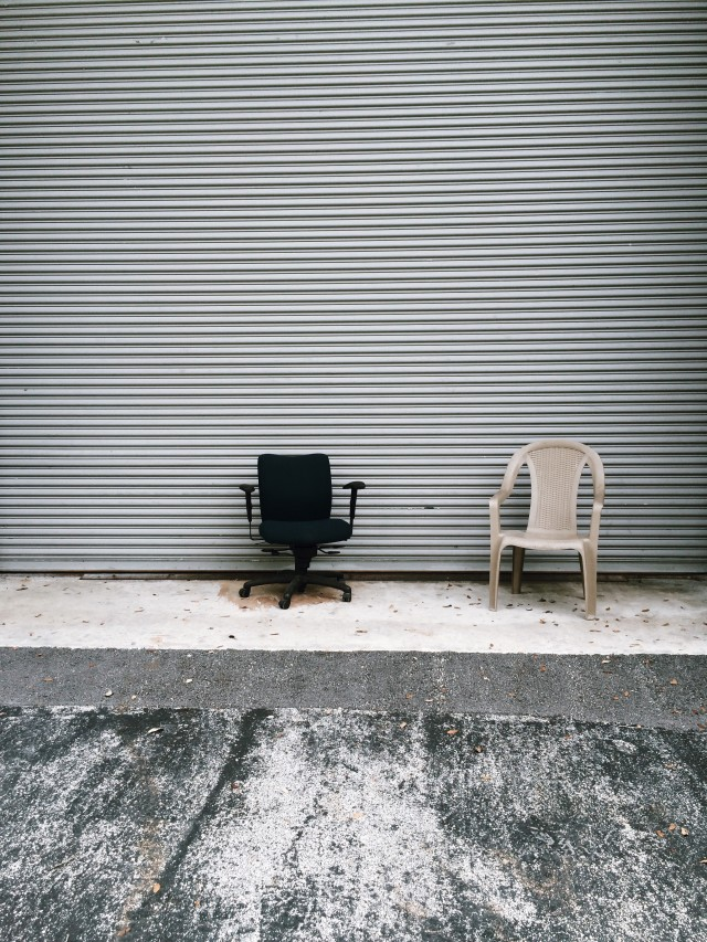 Lonely chairs