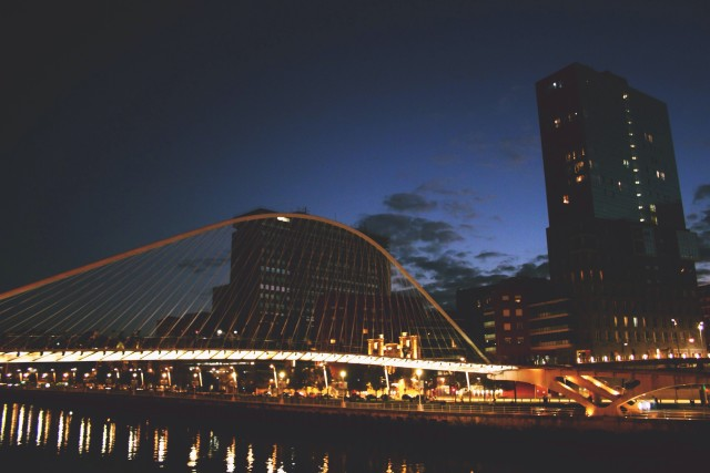 Calatrava's bridge in Bilbao
