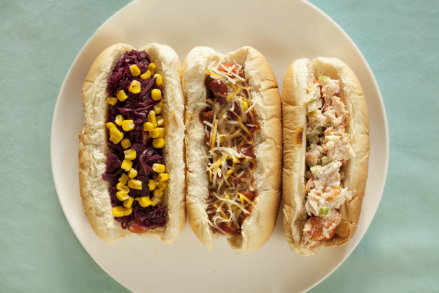 Unusual hot dog toppings