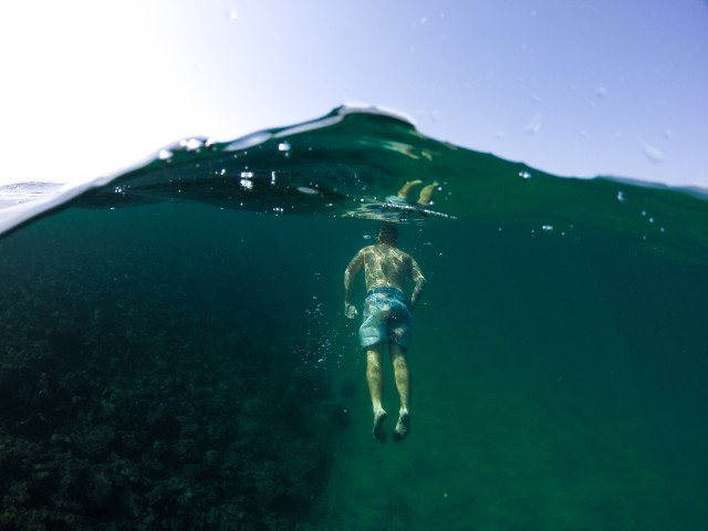 Swimming to the surface (2)
