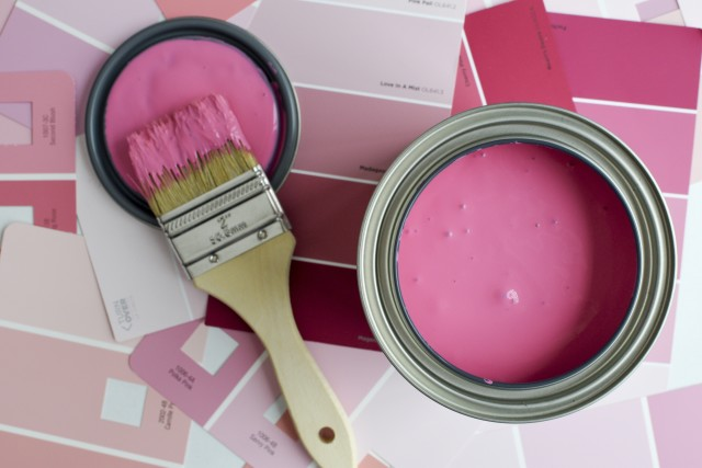 Pink Paint Project