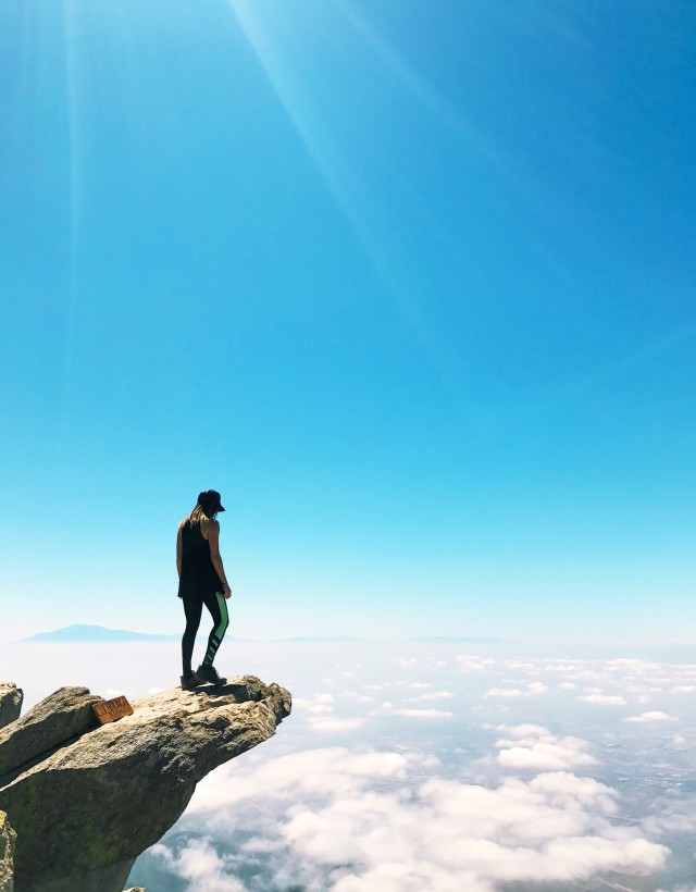 Hike above the clouds