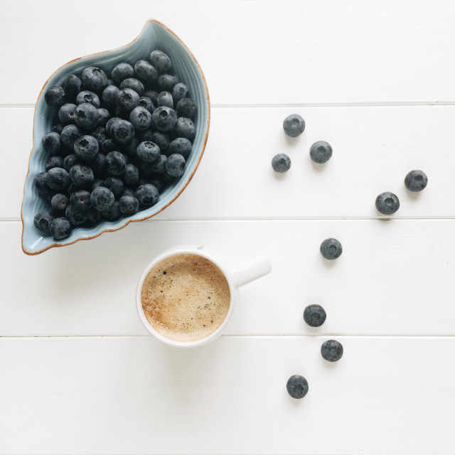 Free authentic blueberries photo on Reshot