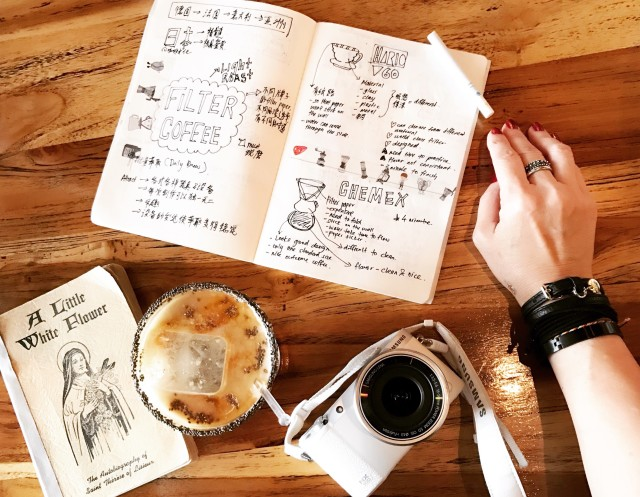 Doodle. Coffee. Book.