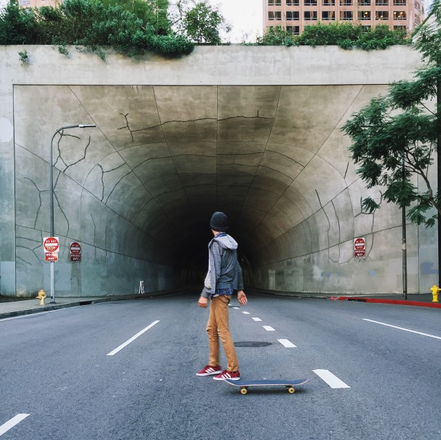 Free authentic tunnel photo on Reshot
