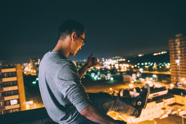 Free authentic rooftop photo on Reshot