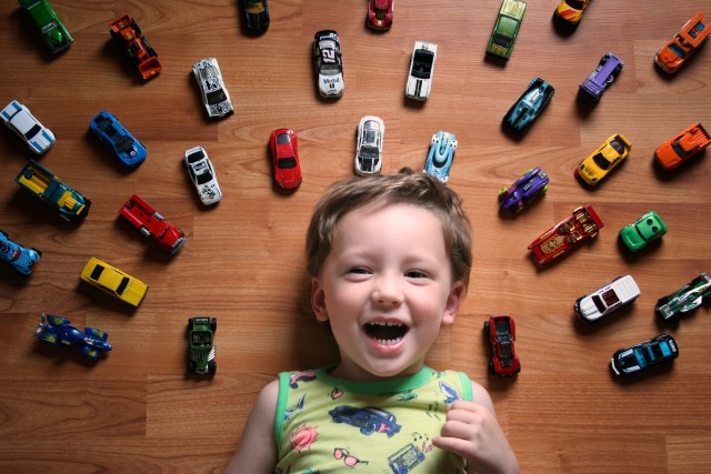 The love of Hot Wheels