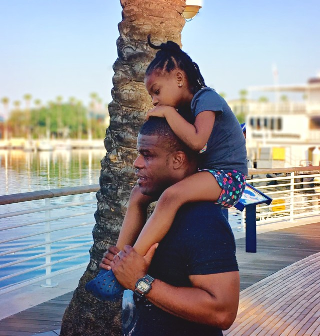 Daddy and Daughter Spending Time Together