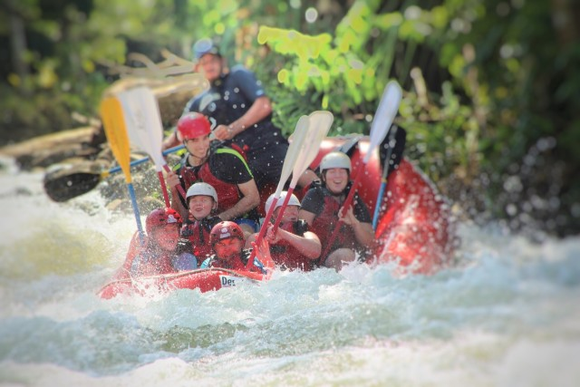 Rafting on the Balsa River in Costa Rica
