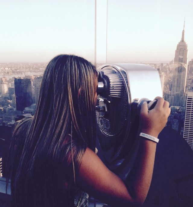 Getting a close up of this beautiful city!