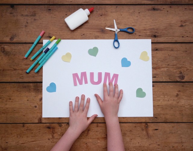 Getting crafty for Mothers Day