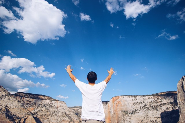 Touch The Sky. Breath. Be Alive.