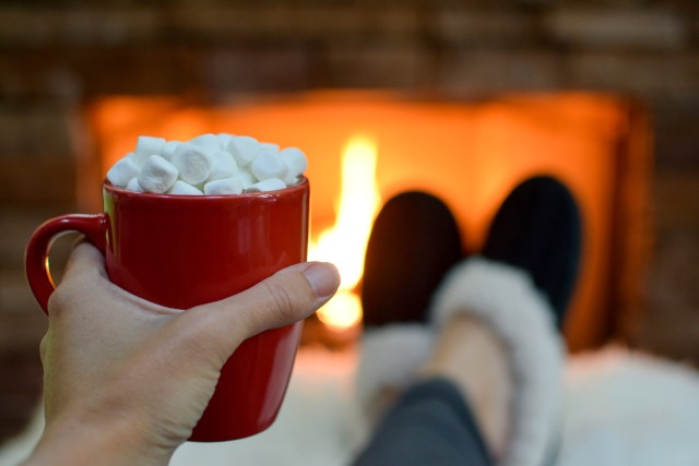 Hot Chocolate and Slippers