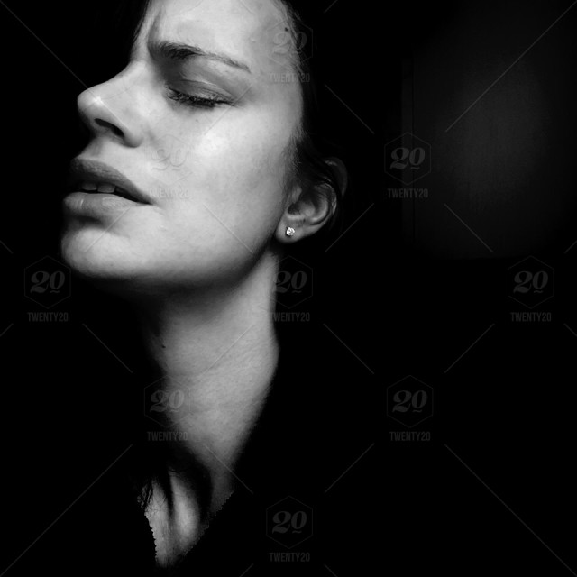 Portrait, People, Light, Dark, Face, Shadows, Woman