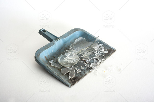 stock photo, broken, glass, clean, mess, stock, broken-glass, clean-up, dust-pan, minimalism, excuse-our-mess