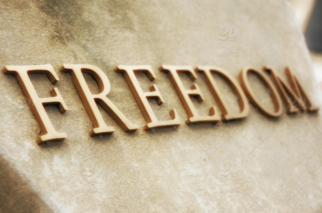 how to spell freedom