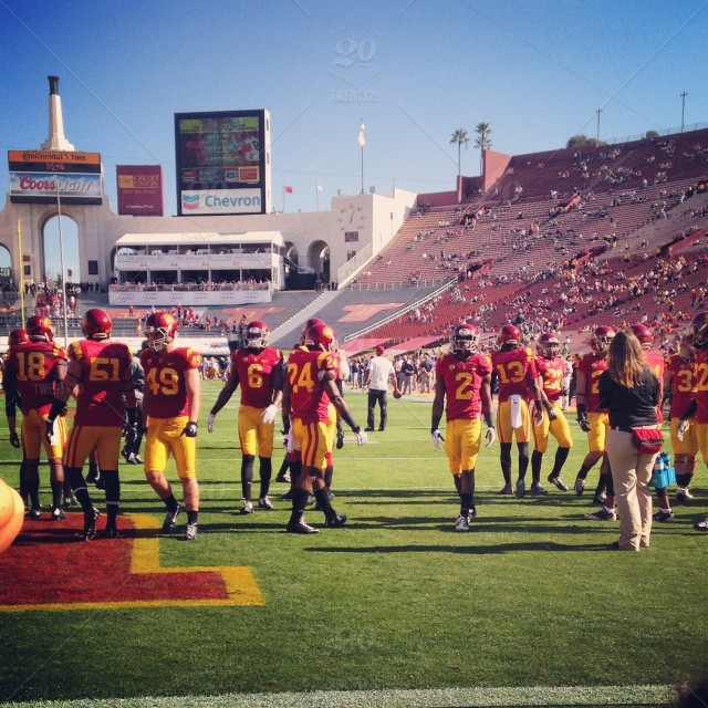 Field Level For Usc Football Stock Photo 6f44c4a7 Fc57 47d9