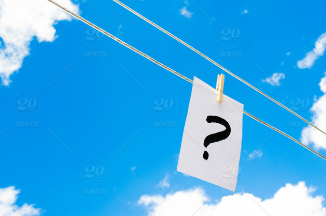 stock photo, sky, problem, question, answer, question-mark, to-wonder