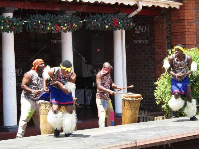 Christmas Traditions In South Africa.Traditional Tribal Dancing South Africa Stock Photo 6f7f585e