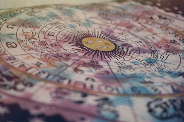 stock photo, sun, bed, clock, stars, pretty, astrology, tapestry, zodiac