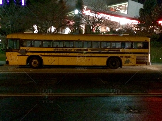A Poorly Painted School Bus Stock Photo 26257aa4 Ed04
