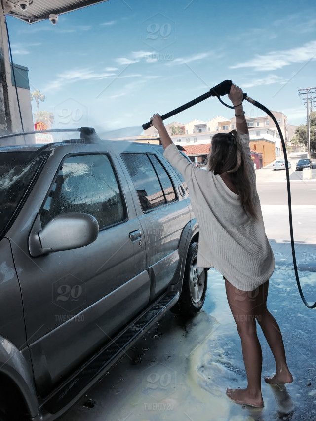 Spring cleaning stock photo 2d81f830 b17b 4375 8b89 a58a2cc755ca stock photo water car washing california truck girl clean solutioingenieria Gallery