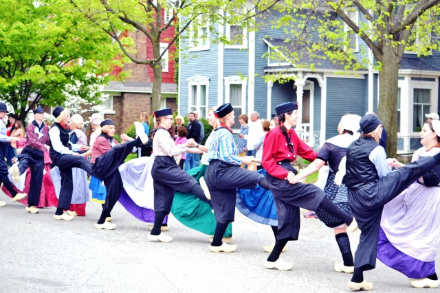 Tulip Time Festival! Nearly 1,000 costumed locals perform