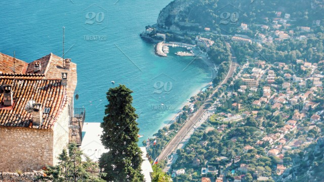 French Riviera Overview stock photo 47f60be3-cfd6-4f44