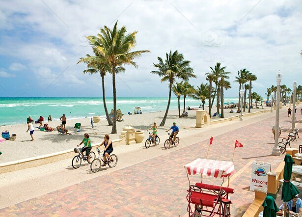 Pictures of hollywood beach fl