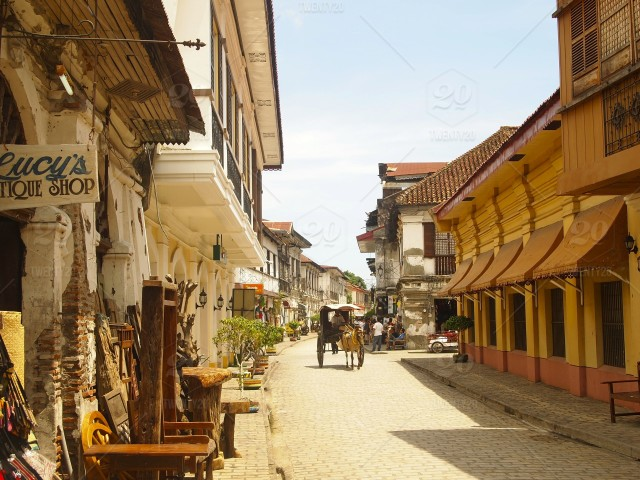 Vigan the old city in the northern Philippines is the largest ...