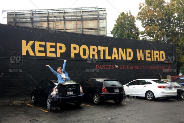 Keep Portland Weird Wall 4