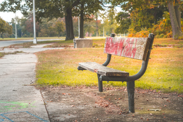 Advertising Area Background Beautiful Bench Billboard
