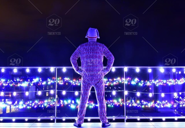 Christmas Runway Lights.Christmas Like Clark Griswold Stock Photo 9719c773 84e8